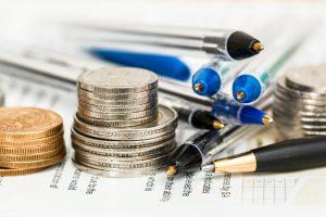 coins-pens-paper