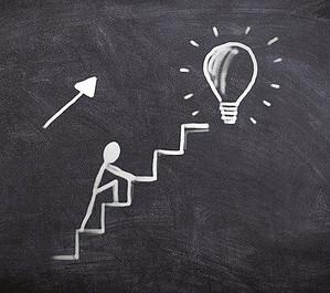 steps -- light bulb