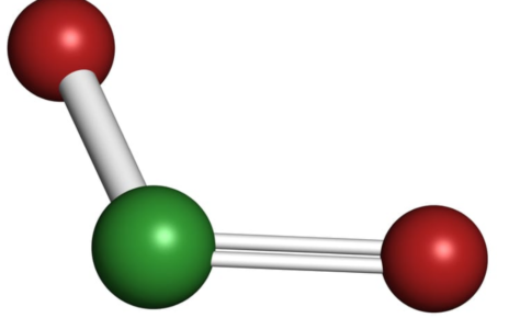 chlorine-dioxide-structure